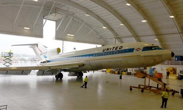 Un vol unique pour le 1er Boeing 727