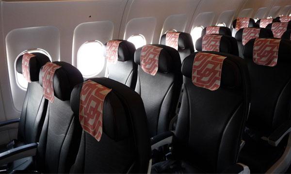 le 1er airbus a319 reconfigur d air france atterrit cdg transport a rien le journal de. Black Bedroom Furniture Sets. Home Design Ideas