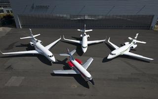 Photos : La famille Falcon de Dassault souffle ses 50 bougies