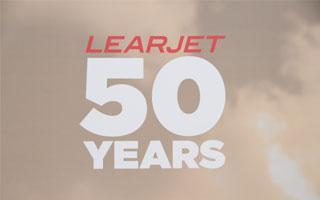 En images : Learjet f�te ses 50 ans