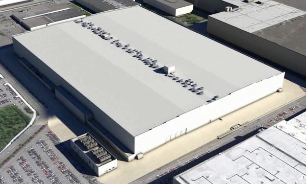 Le centre de production des ailes en composites du Boeing 777X sort de terre