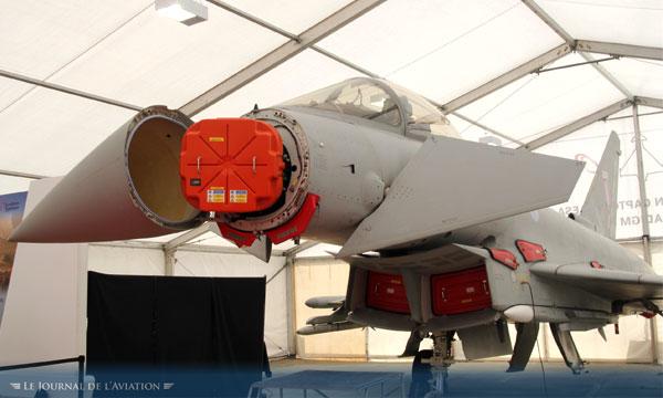 feu vert pour le futur radar aesa de l eurofighter le journal de l 39 aviation. Black Bedroom Furniture Sets. Home Design Ideas