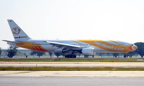 Tha�lande : NokScoot pr�sente son 1er Boeing 777-200ER
