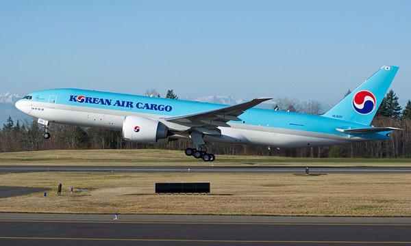 Korean Air acquiert 5 Boeing 777F suppl�mentaires
