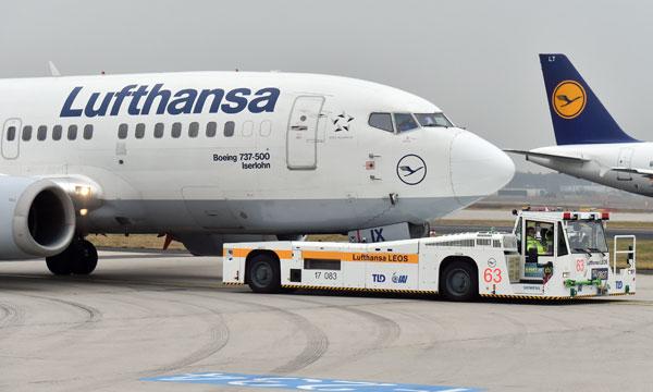 Le TaxiBot en service chez Lufthansa (reportage vid�o)