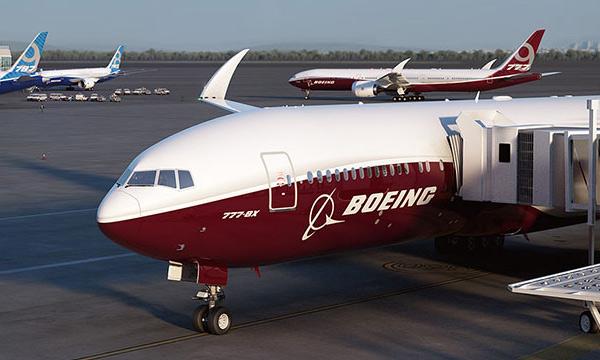 Les ailes du Boeing 777X pourront se replier gr�ce � Liebherr Aerospace