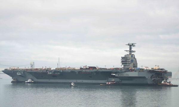 L�US Navy lance les essais de catapultages �lectromagn�tiques