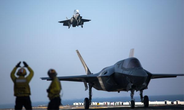 D�but des essais op�rationnels pour les F-35B