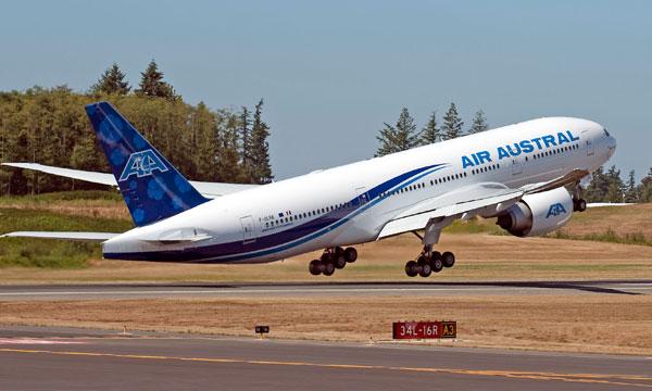Air Austral a trouv� preneur pour son Boeing 777-200LR et se pr�pare pour les 787