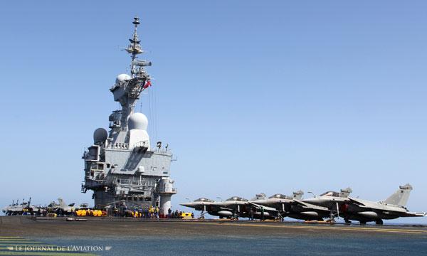 Bilan opérationnel « très positif » pour le porte-avions Charles de Gaulle