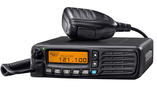 Avec la radio IC-A120E, ICOM met les opérateurs aéroportuaires à la norme européenne