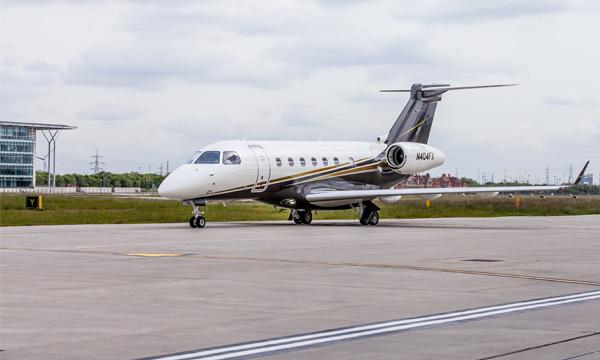 Flexjet ajoute London City à ses destinations grâce au Legacy 500 d'Embraer