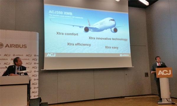 Airbus lance son ACJ350 XWB