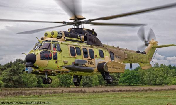 Première campagne de tir pour le HForce d'Airbus Helicopters