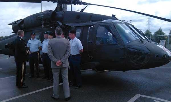Vers un renforcement des liens entre l'aviation légère des armées de terre française et américaine