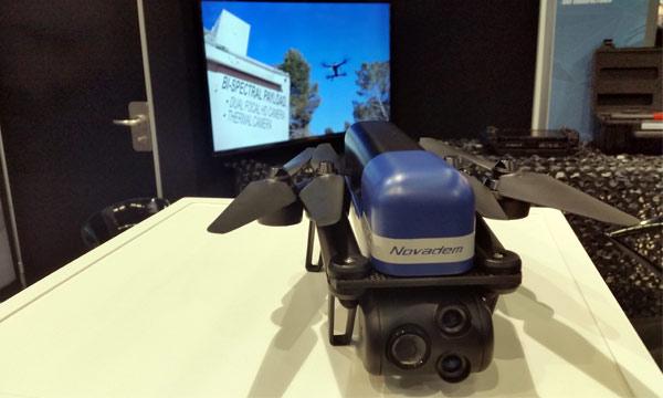 Novadem présente le NX70, son nouveau micro-drone de reconnaissance tactique