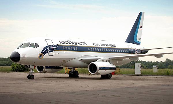 Photo : La Thaïlande s'apprête à recevoir ses Superjet VIP