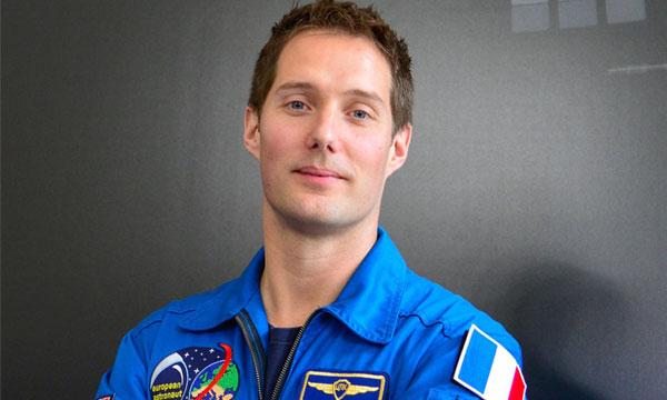 L'astronaute Thomas Pesquet paré au décollage