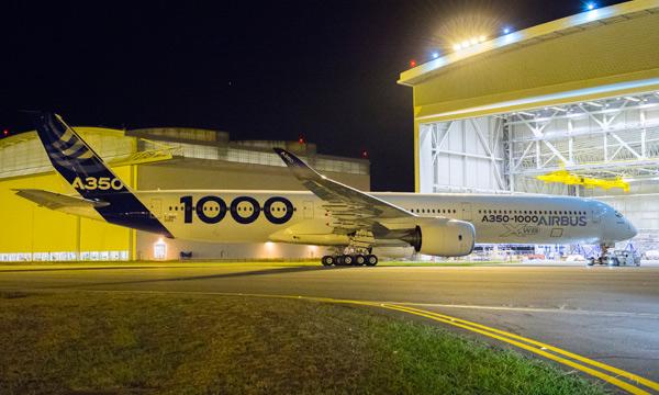 L'A350-1000,  le nouveau tueur de Triple Sept est prêt