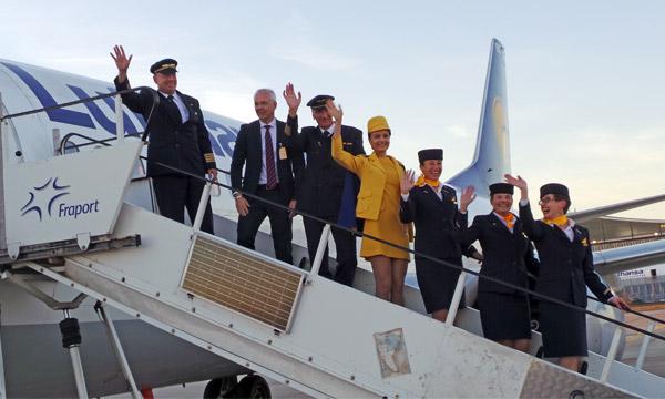 Lufthansa fait ses adieux à Bobby, son Boeing 737