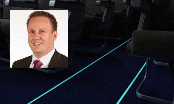 Comment STG Aerospace réinvente l'éclairage des cabines des avions de ligne