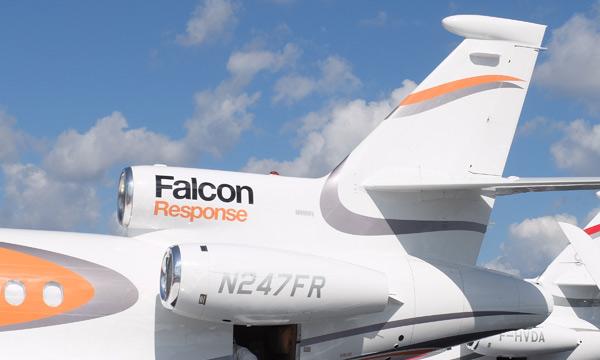 Le service client des avions Falcon de Dassault poursuit sa croissance