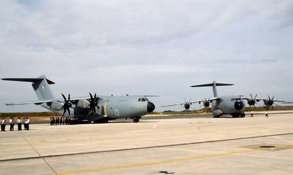 L'armée de l'air en attente d'A400M « tactiques »