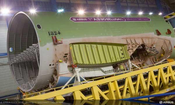 Le Beluga XL d'Airbus se concrétise
