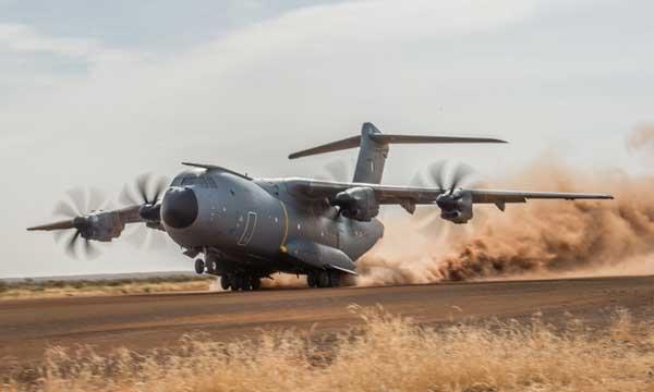 L'A400M valide ses premières capacités sur terrains sommaires