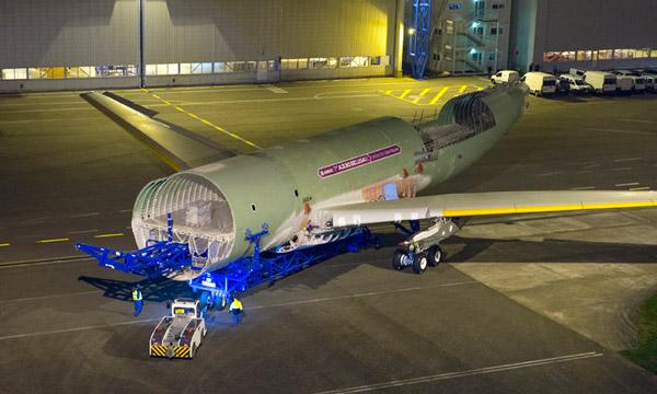 Airbus débute l'intégration du Beluga XL