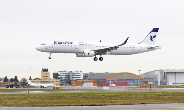 Un Airbus A321 inaugure le renouvellement de la flotte d'Iran Air