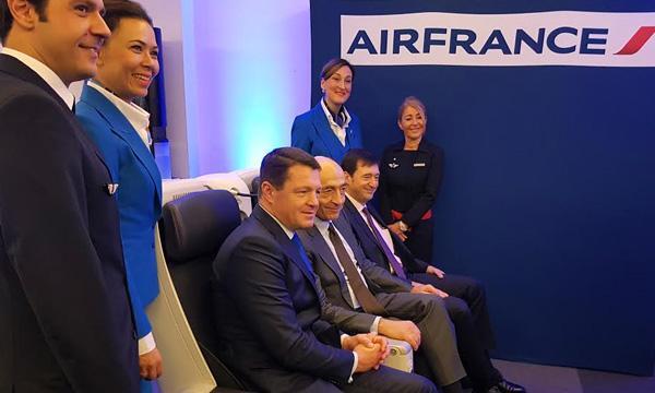 Air France anticipe une année 2017 incertaine mais en croissance