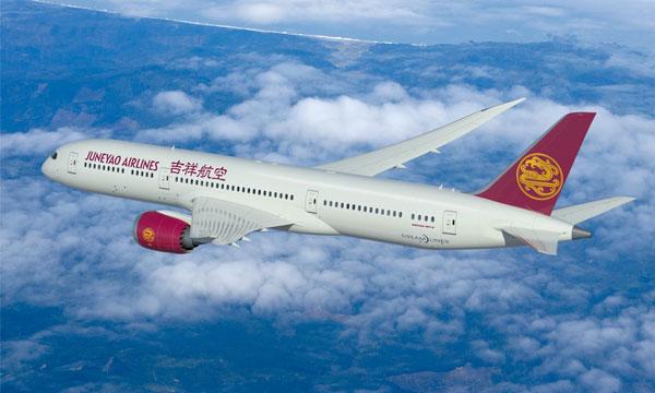 Juneyao confirme sa commande de Boeing 787-9