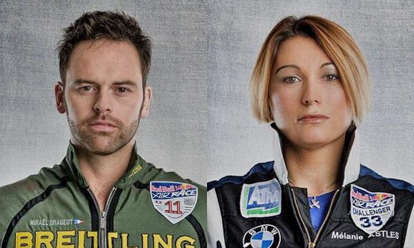 Mikaël Brageot et Mélanie Astles livrent leurs impressions sur le début de la Red Bull Air Race