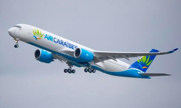 Air Caraïbes prend livraison de son 1er A350 XWB — Airbus