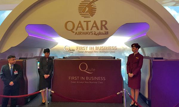 Avec ses QSuites, Qatar Airways place toujours plus haut la barre du confort à bord