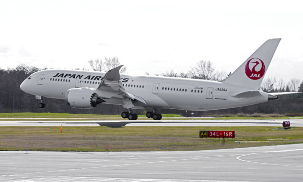 Japan Airlines propose des vols en jets d'affaires  avec Dassault Falcon Service