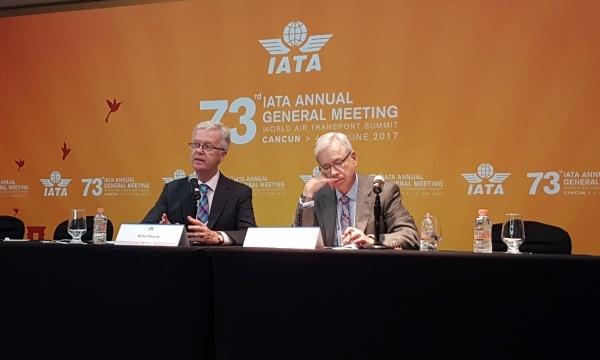 L'IATA relève ses prévisions pour 2017