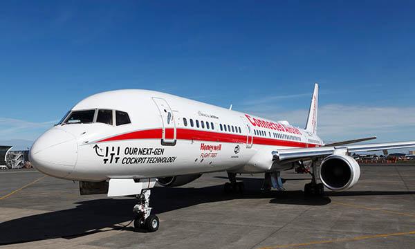 Tour du monde connecté pour le Boeing 757 de Honeywell