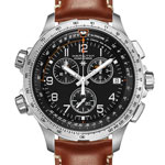 Hamilton : Khaki X-Wind Chrono quartz GMT
