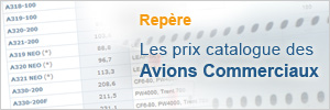 Prix des avions commerciaux