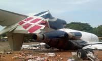 Un Boeing 727-200 cargo nigérian rate son atterrissage à Accra