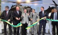 Eurocopter a inauguré sa nouvelle ligne d'assemblage brésilienne