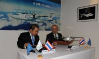 Salon de Singapour : Bangkok Airways officialise sa commande d'ATR 72-600