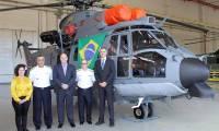 Airbus Helicopters : Le premier EC725 intégralement produit au Brésil a été livré