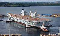 Photo : Mise à flot du HMS Queen Elizabeth