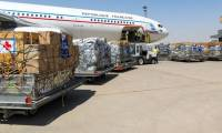 Un A340 de l'armée de l'air livre 18 tonnes de fret humanitaire en Irak