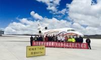 Le Falcon 7X va pouvoir opérer depuis l'aéroport le plus haut du monde