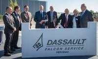 Dassault Aviation : le pôle MRO des Falcon à Bordeaux-Mérignac opérationnel en 2016