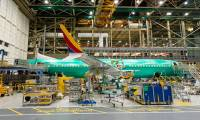 Photo : le premier 737 MAX destiné à Southwest Airlines en assemblage final